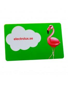 Miljøvennlige plastkort